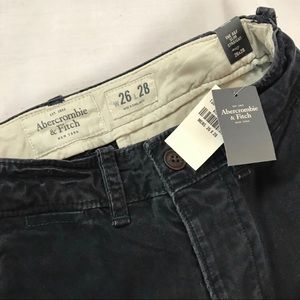 Abercrombie & Fitch Pants - Abercrombie Mens New Chino Pants Size 26 A&F Gray